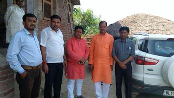 झंझारपुर कैंपेनिंग – जदयू दिल्ली प्रदेश महासचिव सरोज मोहन झा के निवास स्थान पर चुनावी चर्चा