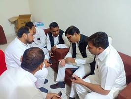 गाज़ियाबाद मुख्य चुनाव कार्यालय में सपा प्रत्याशी सुरेश बंसल जी से की मुलाकात