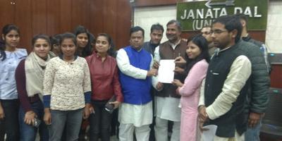 अमल कुमार – युवा जदयू दिल्ली प्रदेश को मिला कॉलेज छात्रों का साथ, पार्टी के प्रचार-प्रसार का लिया जिम्मा