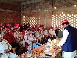 उन्नाव लोकसभा के अंतर्गत सफीपुर विधानसभा में गठबंधन प्रत्याशी के समर्थन में नुक्कड़ सभाओं को संबोधन
