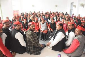 लोहिया वाहिनी की बैठक के अंतर्गत संगठन को मजबूत बनाने पर जोर