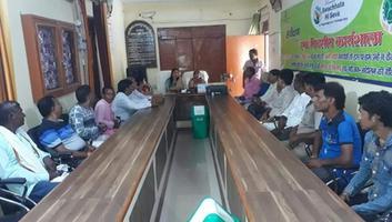ज्योतिष्ना कटियार – नगर पंचायत अकबरपुर के सभागार में स्वच्छता के लिए आयोजित हुई बैठक
