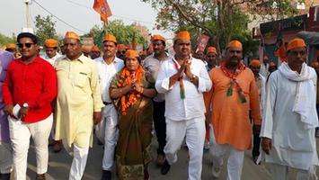 ज्योतिष्ना कटियार – अकबरपुर लोकसभा में भाजपा प्रत्याशी के लिए मतदाताओं से वोट अपील