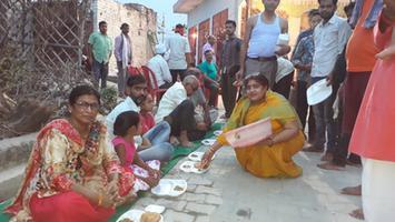 ज्योतिष्ना कटियार – जगदीश्वर धाम मंदिर स्थापना दिवस के उपलक्ष्य में अखंड पाठ एवं भंडारे का आयोजन