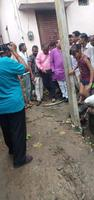 सआदतगंज वार्ड के शेखपुर क्षेत्र में जन समस्याओं को लेकर किया मीडिया संग निरीक्षण
