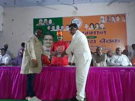 -नगर पंचायत अकबरपुर में आज उत्तर प्रदेश सरकार के नगर विकास मंत्री श्री महेश चंद्र गुप्ता जी का प्रथम