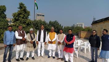 युवा जदयू दिल्ली - जदयू पार्टी राष्ट्रीय कार्यालय में धूमधाम से मनाया गया 71वां गणतंत्र दिवस