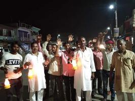 बिजली की कीमतों में वृद्धि के विरोध में कांग्रेस का कानपुर में प्रदर्शन