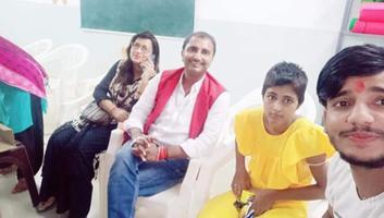 शिवपाल सावरिया - निर्वाण सेवा संस्थान में बच्चों के साथ बिताए यादगार क्षण