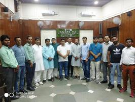 """""""शराब छोड़ो, दूध पियो"""", अभियान को लेकर दिल्ली प्रदेश में जदयू की बैठक"""