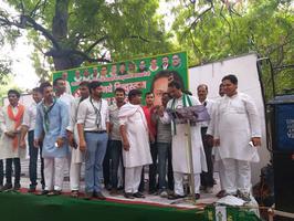 एक कदम शराबमुक्त भारत की ओर – जदयू का शराबबंदी अभियान राजधानी दिल्ली से हुआ शुरू