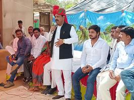 मैनपुरी लोकसभा भोगांव विधानसभा के ग्राम रजवाना, तिसौली में नुक्कड़ सभा को संबोधन