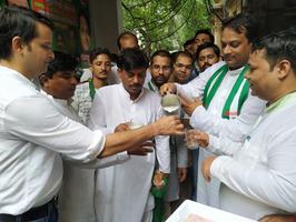 युवा जदयू दिल्ली – दिल्ली के जंतर मंतर में शराबबंदी अभियान के अवसर पर उमड़ा जन सैलाब