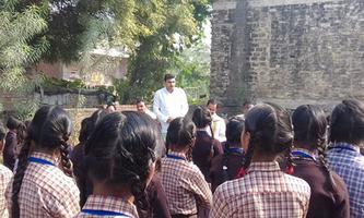 """हर्ष एजुकेशन सेंटर एवं डॉ भीमराव अंबेडकर कन्या इंटर कॉलेज रनिया में """"इंदिरा-नेहरु सप्ताह"""" में छात्रों को किया गया पुरस्कृत"""