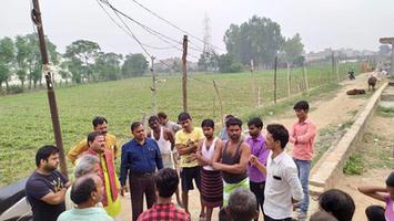 सआदतगंज वार्ड के कनक सिटी इलाके में जन समस्याओं हेतु दौरा