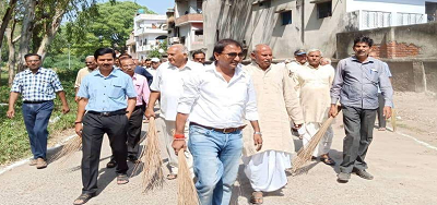 शिवपाल सावरिया – स्वच्छता हमारा अधिकार, स्वच्छता हमारा अभियान..एक कदम स्वच्छ भारत की ओर