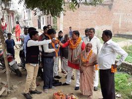 सआदतगंज के कनक सिटी में जलभराव की समस्या से स्थानीय निवासियों को मिलेगी निजात