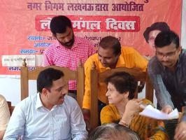 शिवपाल सावरिया - हरिजन बस्ती, आलमनगर में निर्मित होगा कल्याण मंडप
