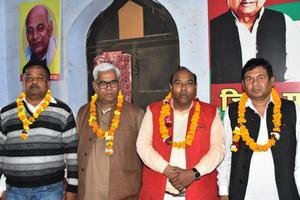 संगठन मजबूती को लेकर सफल समीक्षा बैठक का आयोजन