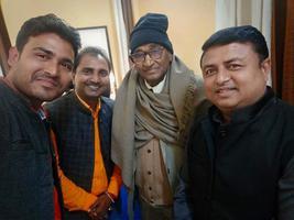 नेताजी सुभाष चंद्र बोस जयंती पर आयोजित विभिन्न आयोजनों में शिरकत एवं वरिष्ठ अधिकारियों से मुलाकात