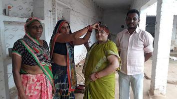 ज्योतिष्ना कटियार - अकबरपुर रनिया विधानसभा क्षेत्र के करौसा गांव में भाजपा सदस्यता अभियान