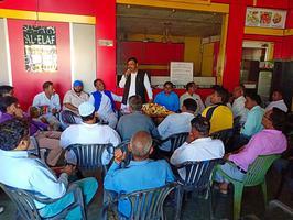 गठबंधन प्रत्याशी हाजी याकूब कुरैशी को भारी मतों से विजयी बनाने की मांग