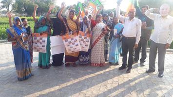 ज्योतिष्ना कटियार – मुरीदपुर ग्राम के अंतर्गत जनता से प्रधानमंत्री जी के संभावित कानपुर दौरे में शामिल होने का आवाहन