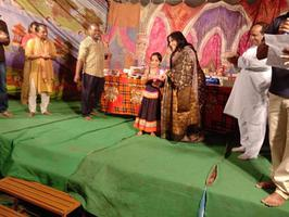 नन्हें कलाकारों को पुरस्कार वितरित कर मुंशीखेड़ा में हुआ रामलीला आयोजन का समापन