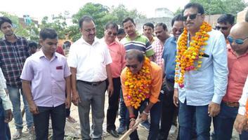 शिवपाल सावरिया – राजाजीपुरम परिक्षेत्र के मेहंदीखेड़ा में प्रारंभ हुआ विकास कार्य