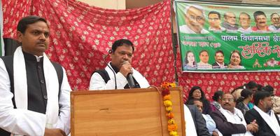 युवा जदयू दिल्ली – पालम विधानसभा के अंतर्गत कार्यकर्ता सम्मेलन