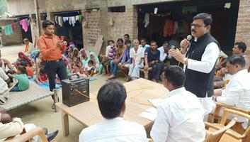 सर्वेश अंबेडकर – बाराबंकी की जैदपुर विधानसभा उपचुनाव में नुक्कड़ सभा को संबोधन