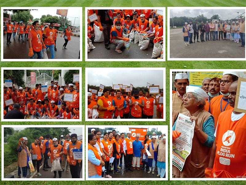 -As a Ground partner of United way India Plog Run, Prithvi Innovations organized the First Plog run