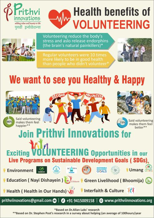 -To celebrate 150th Gandhi Jayanti  Prithvi Innovations is celebrating 1st Oct.to 7th Oct. as Sustai