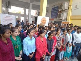 प्रधानमंत्री कौशल विकास स्वरोजगार मेला प्रशिक्षण का उद्घाटन