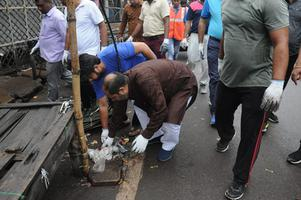 """""""स्वच्छता ही सेवा कार्यक्रम"""" के जरिये दिया समाज को स्वच्छ भारत का संदेश"""