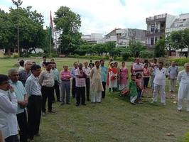 स्वतंत्रता दिवस पर झंडारोहण के अनमोल क्षण