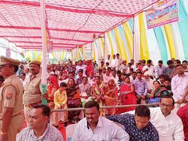 कन्नौज में भदौरिया नेचुरल गैस प्लांट का शिलान्यास कार्यक्रम