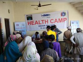 Organizing Health Camp in Dedva Village Uttar Pradesh.