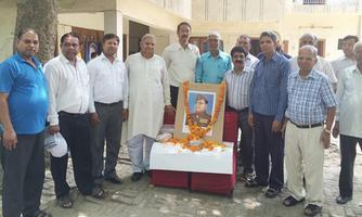 सुभाष युवा मोर्चा - सुभाषवादी भारतीय समाजवादी पार्टी द्वारा शहीदों की वीरगाथाओं व बलिदान को लोगों तक पहुँचाने का प्रयास