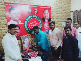 बीपी मंडल जी की जयंती पर पुष्पांजलि अर्पण कार्यक्रम