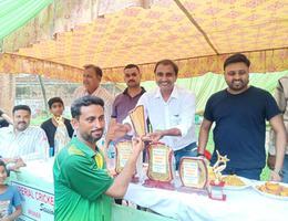 शिवपाल सावरिया- क्रिकेट टूर्नामेंट का आयोजन कर युवाओं का उत्साहवर्धन किया