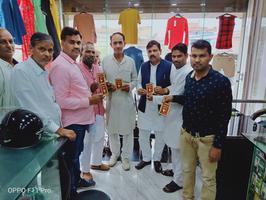हमीरपुर सुमेरपुर में समाजवादी पार्टी की ओर से जनसंपर्क कार्यक्रम का आयोजन