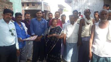 भाजपा सदस्यता अभियान के तहत लोगों को दिलवाई सदस्यता